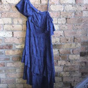Freepeople asymmetrical dress.